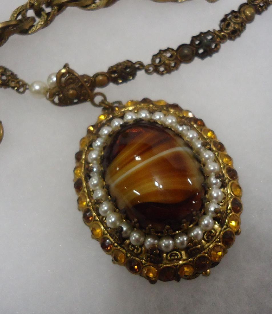 Pocket watch, Necklace & Bracelet - 4