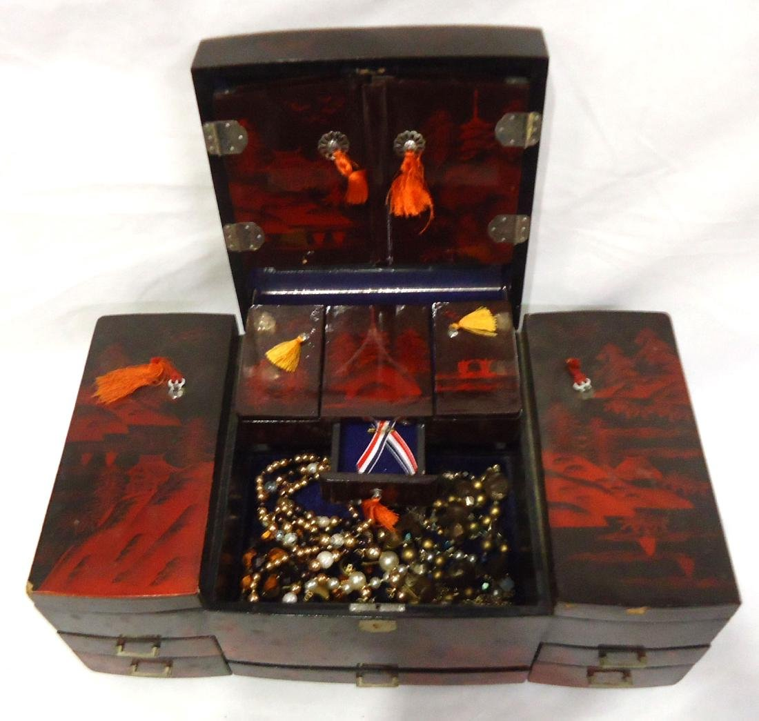 Jewelry Box & Contents - 3