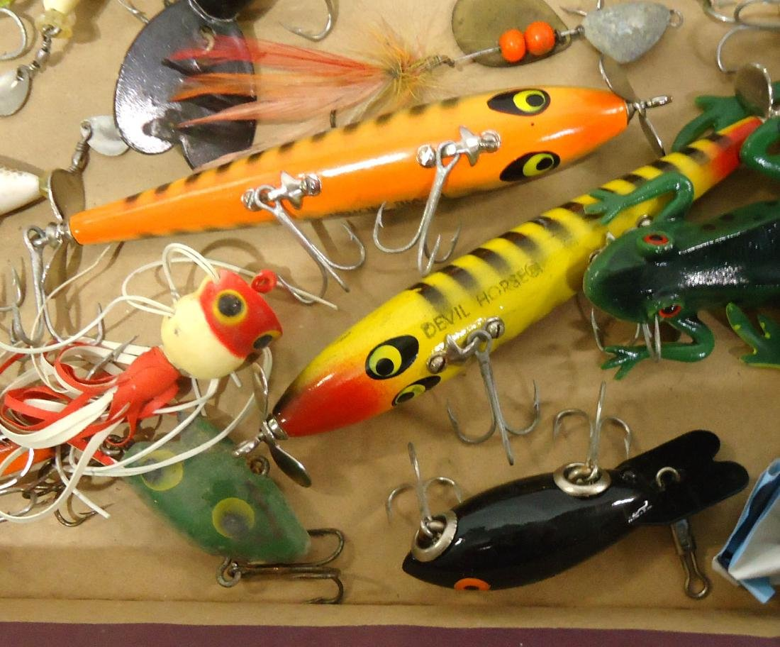 Lot of 19 Fishing Lures - 5