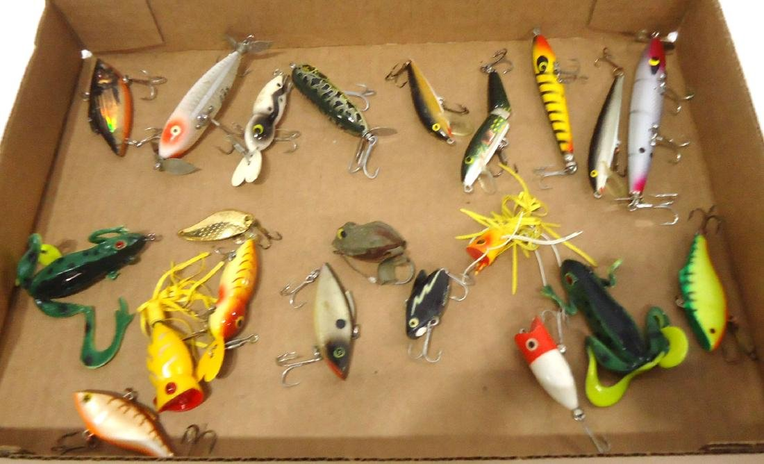 Lot of 21 Fishing Lures - 2