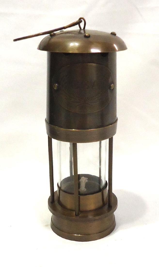 Modern Confederate CSA Brass Lantern
