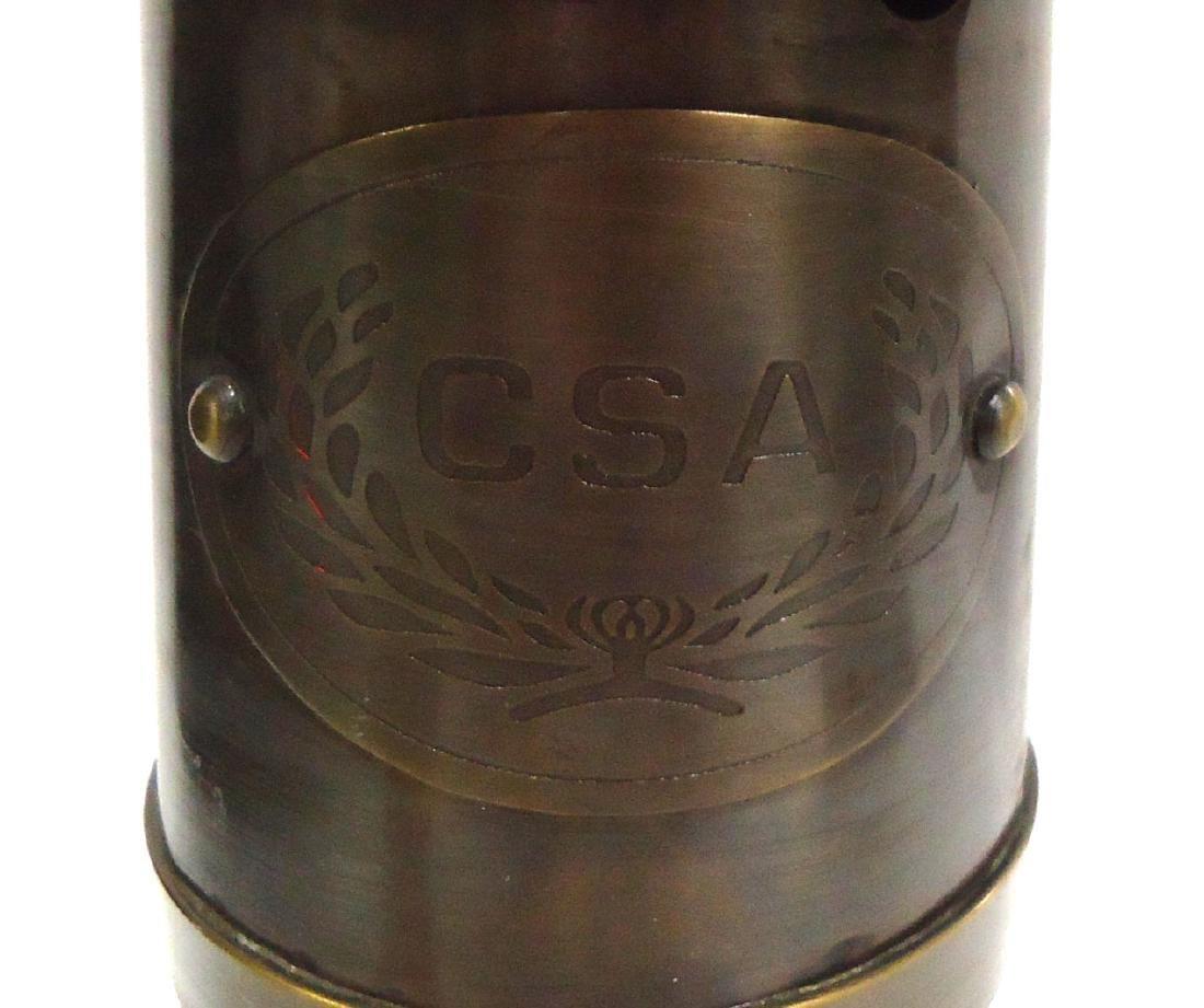 Modern Confederate CSA Brass Lantern - 2