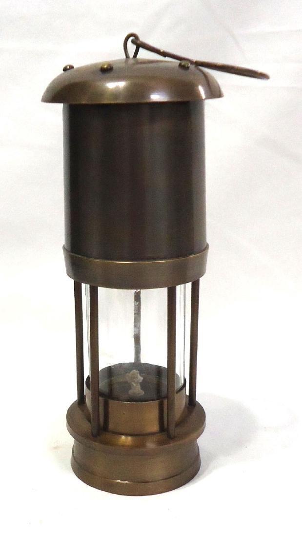 Modern Confederate CSA Brass Lantern - 3