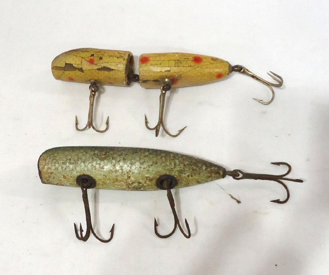 2 Wooden Fishing Lures