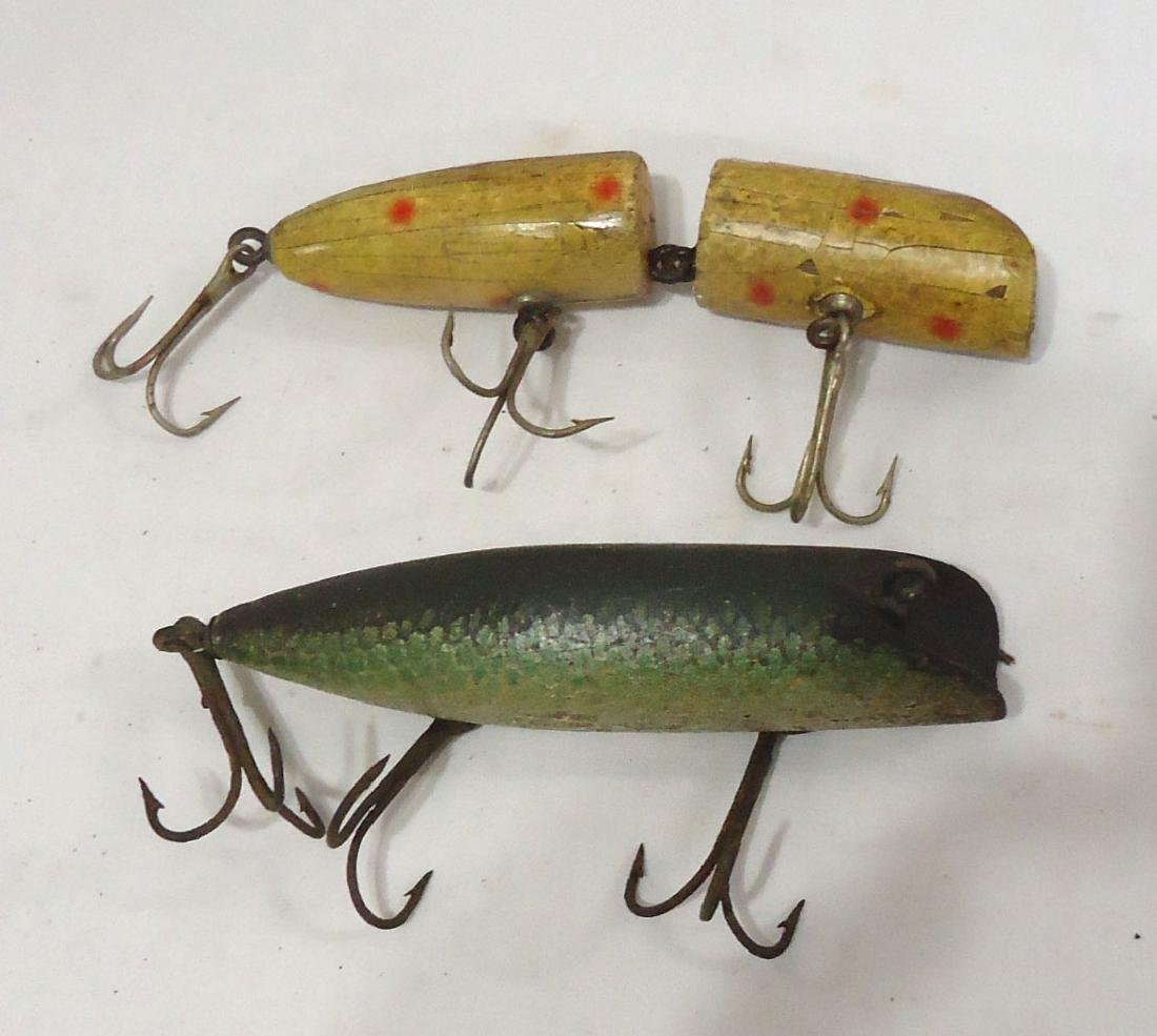 2 Wooden Fishing Lures - 2