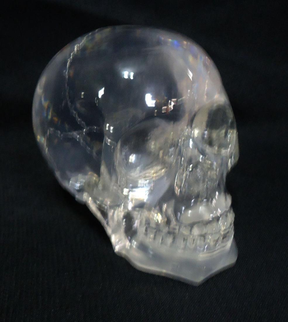 Lucite Skull - 2