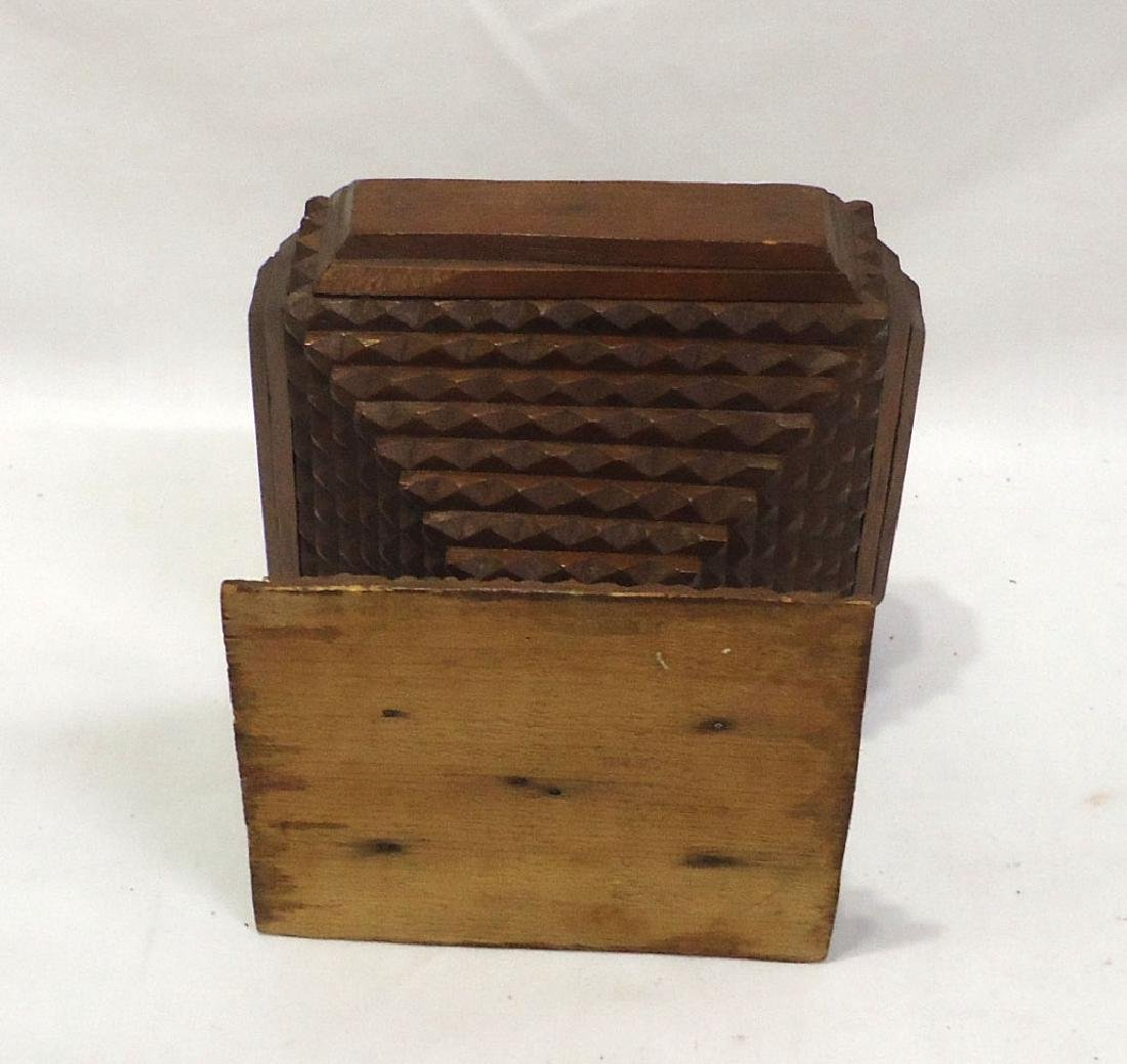Tramp Art Box - 3