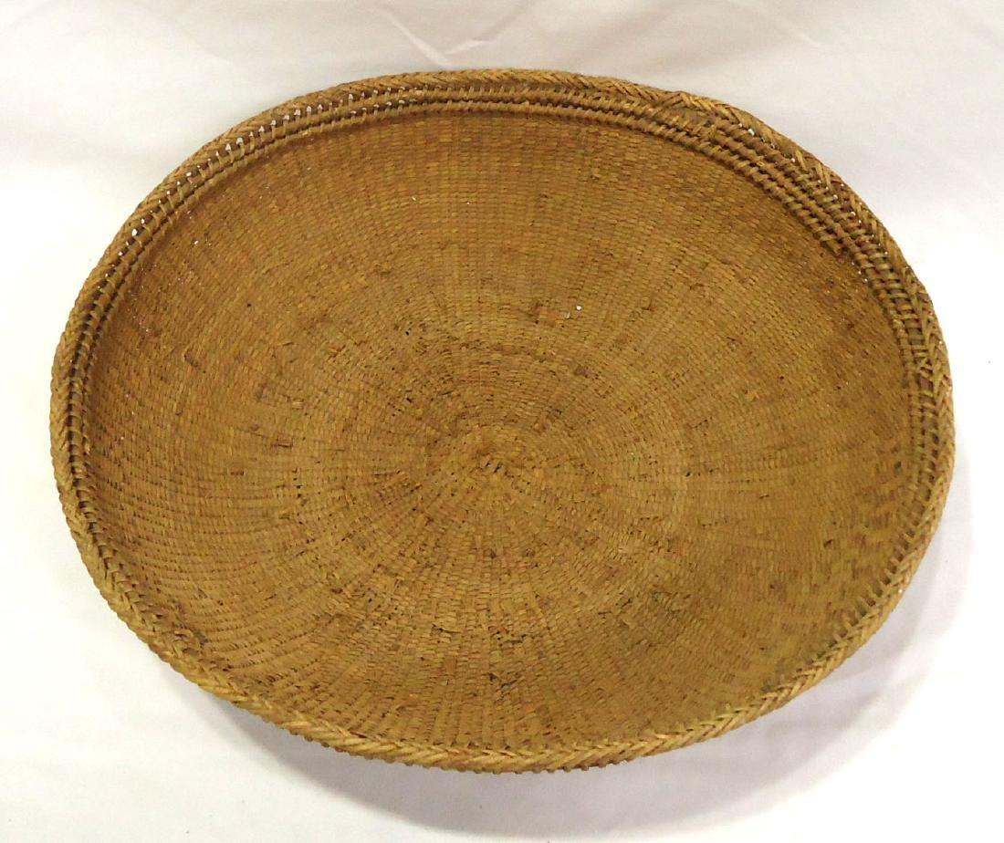 Lg. Indian Woven Basket - 2