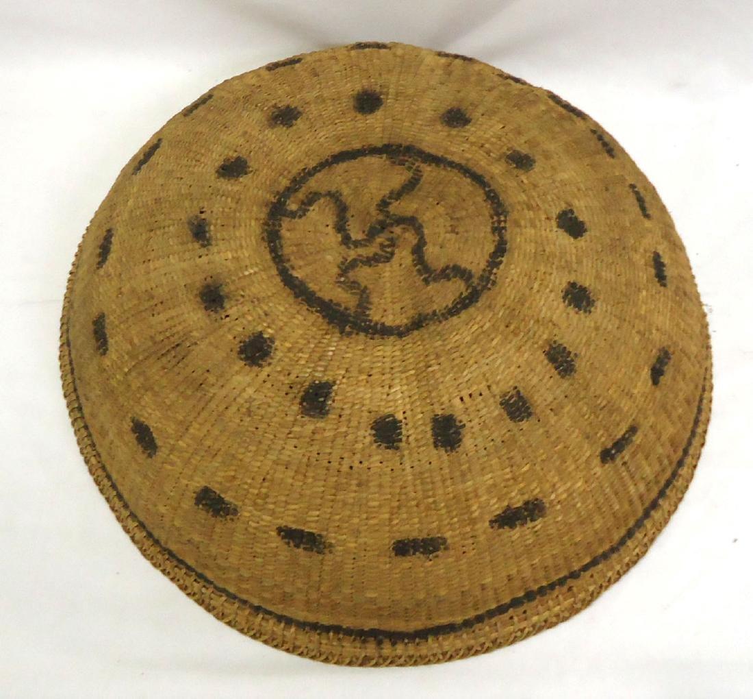 Lg. Indian Woven Basket - 3