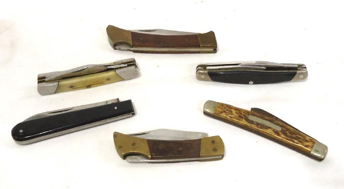6 Pocket Knives - 2