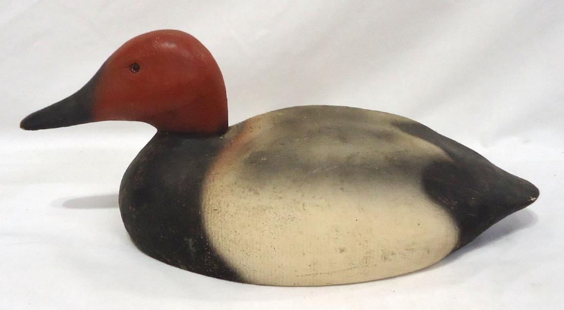 Herter's Wooden Red Head Duck Decoy