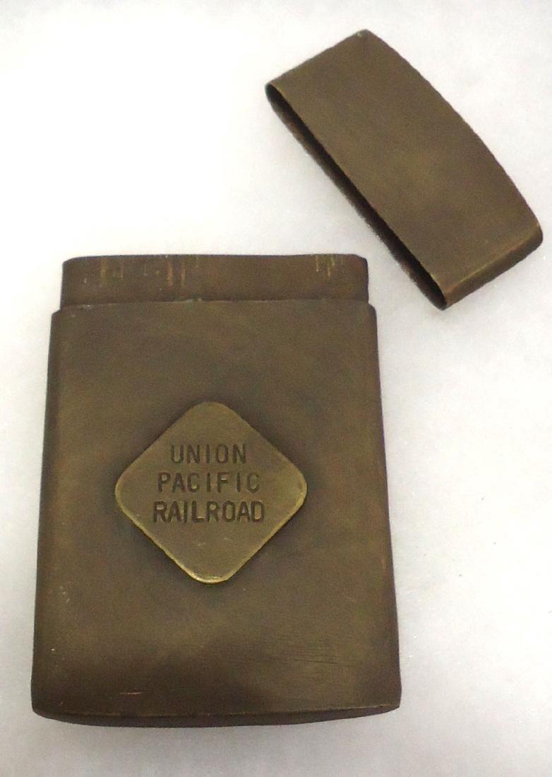 Modern Union Pacific RR Map Case - 2
