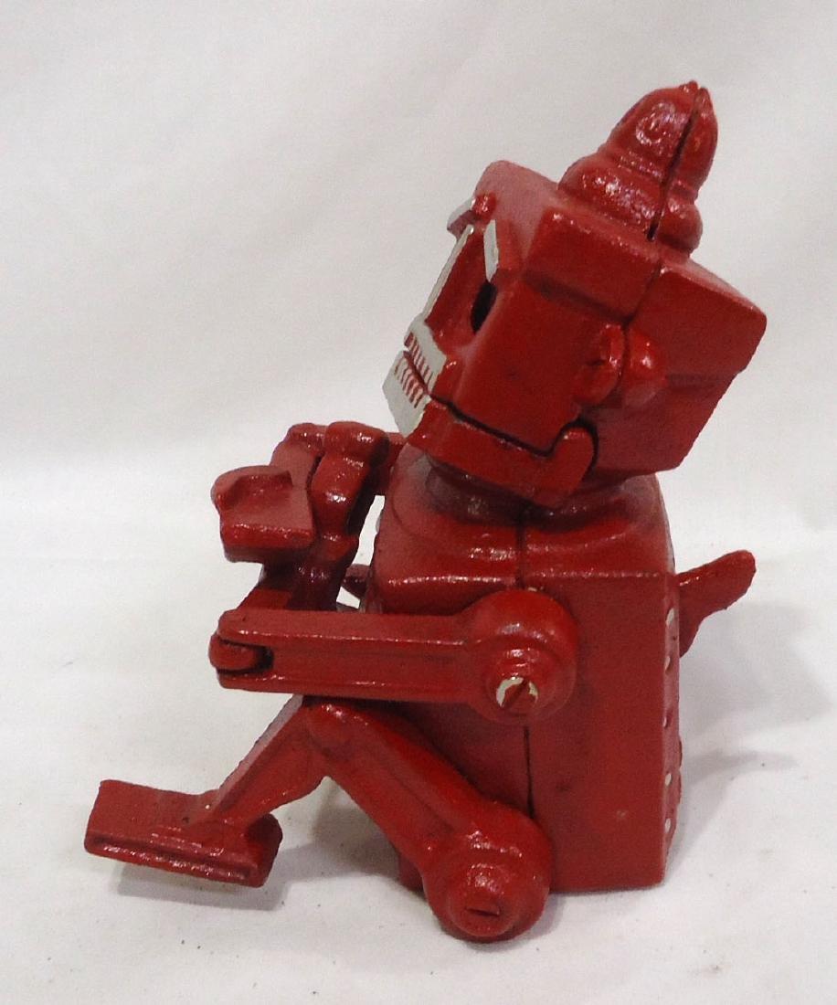 Modern C.I. Robot Mechanical Bank - 2