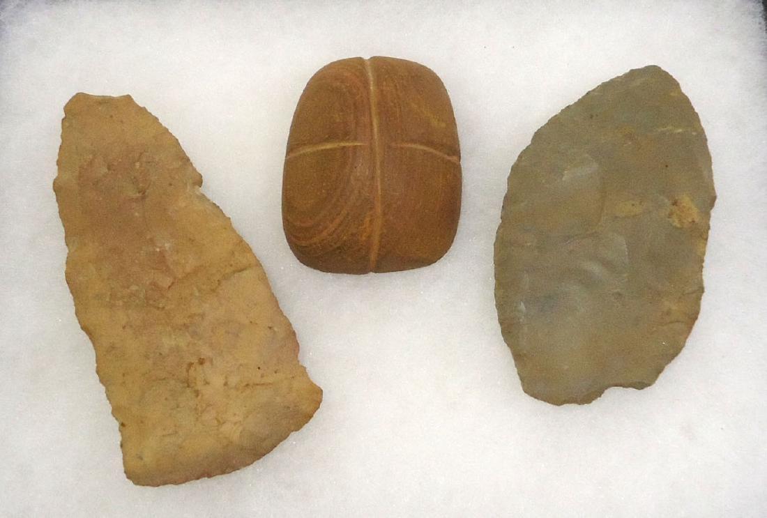 3 Indian Artifacts