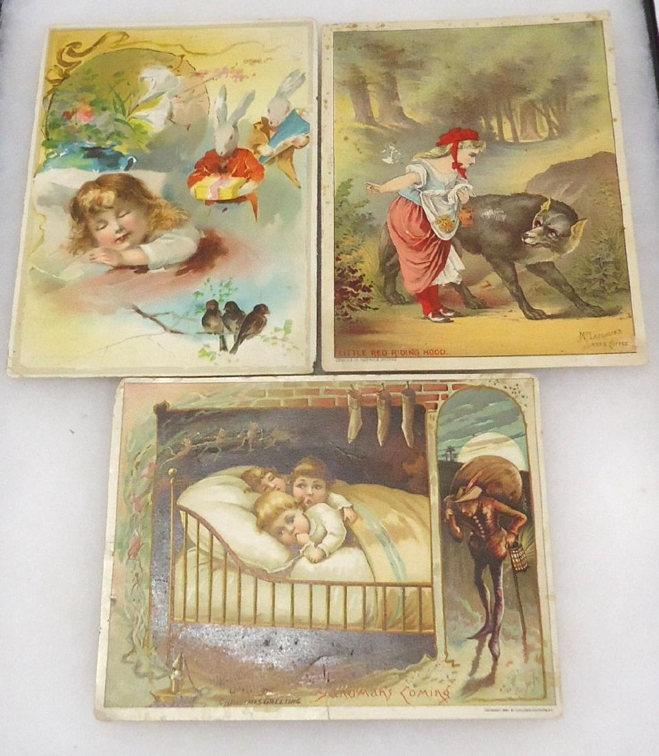 3 Trade Cards