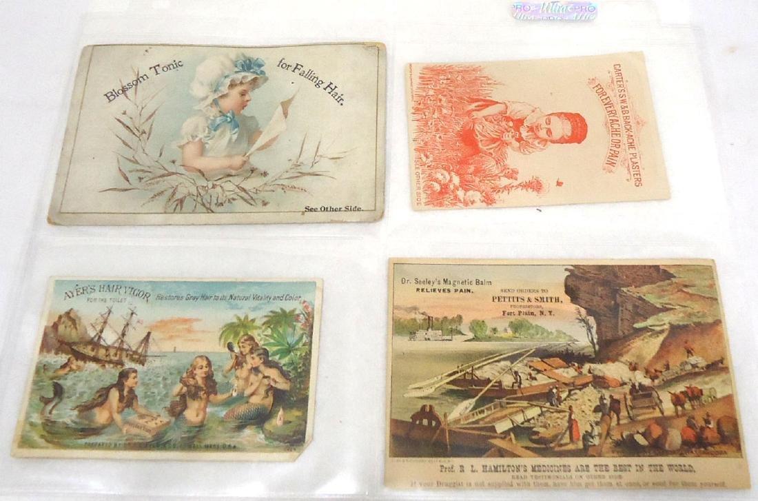 4 Trade Cards