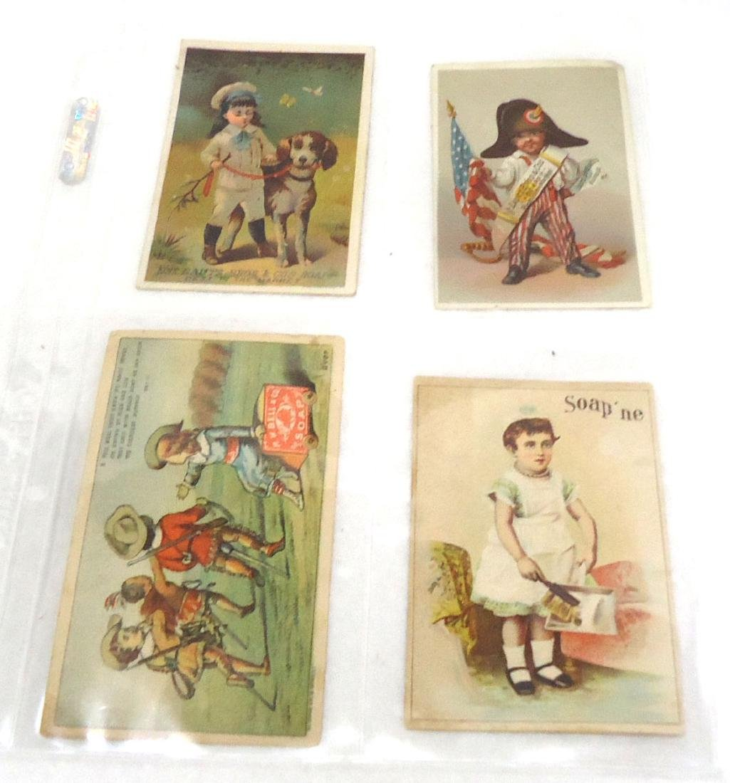 4 Trade Cards