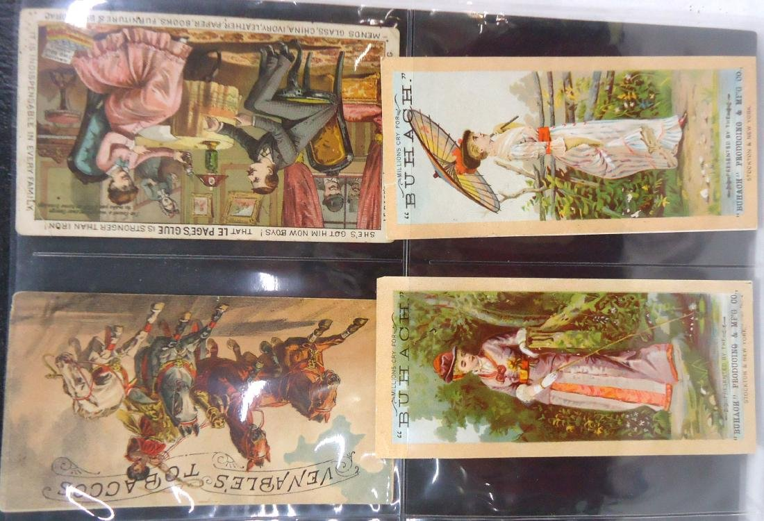 4 Victorian Trade Cards