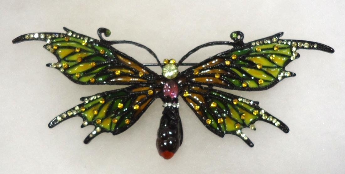 Costume Butterfly Brooch