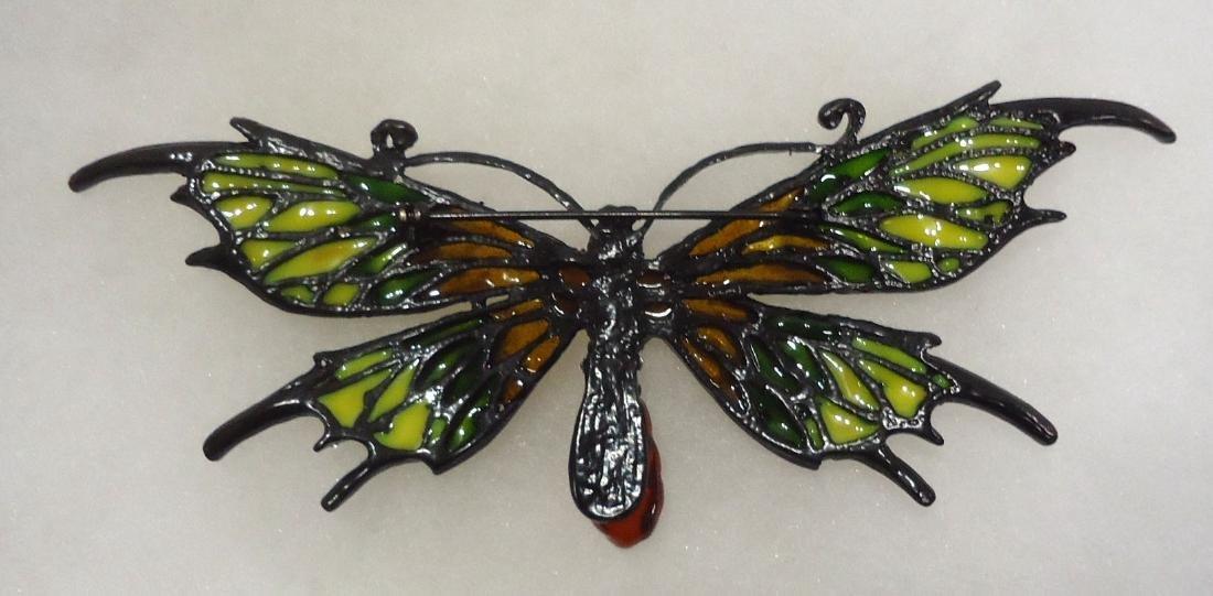 Costume Butterfly Brooch - 3