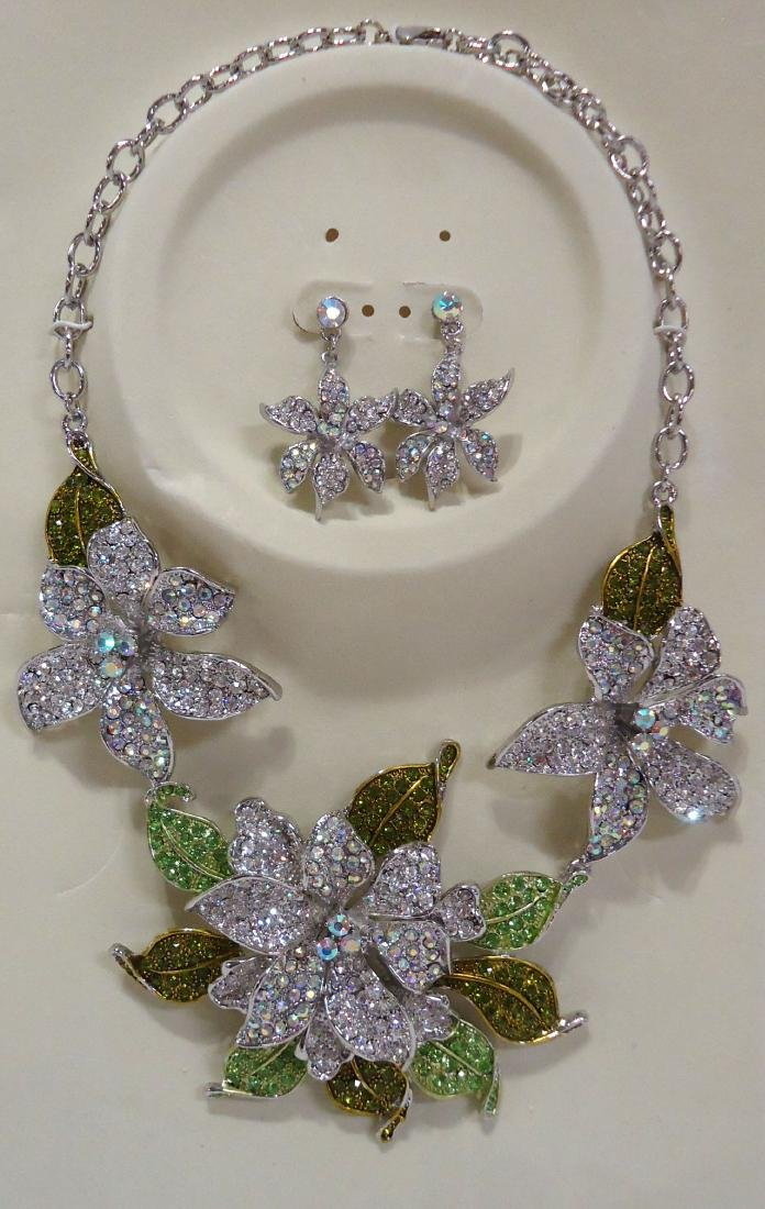Costume Necklace & Earrings