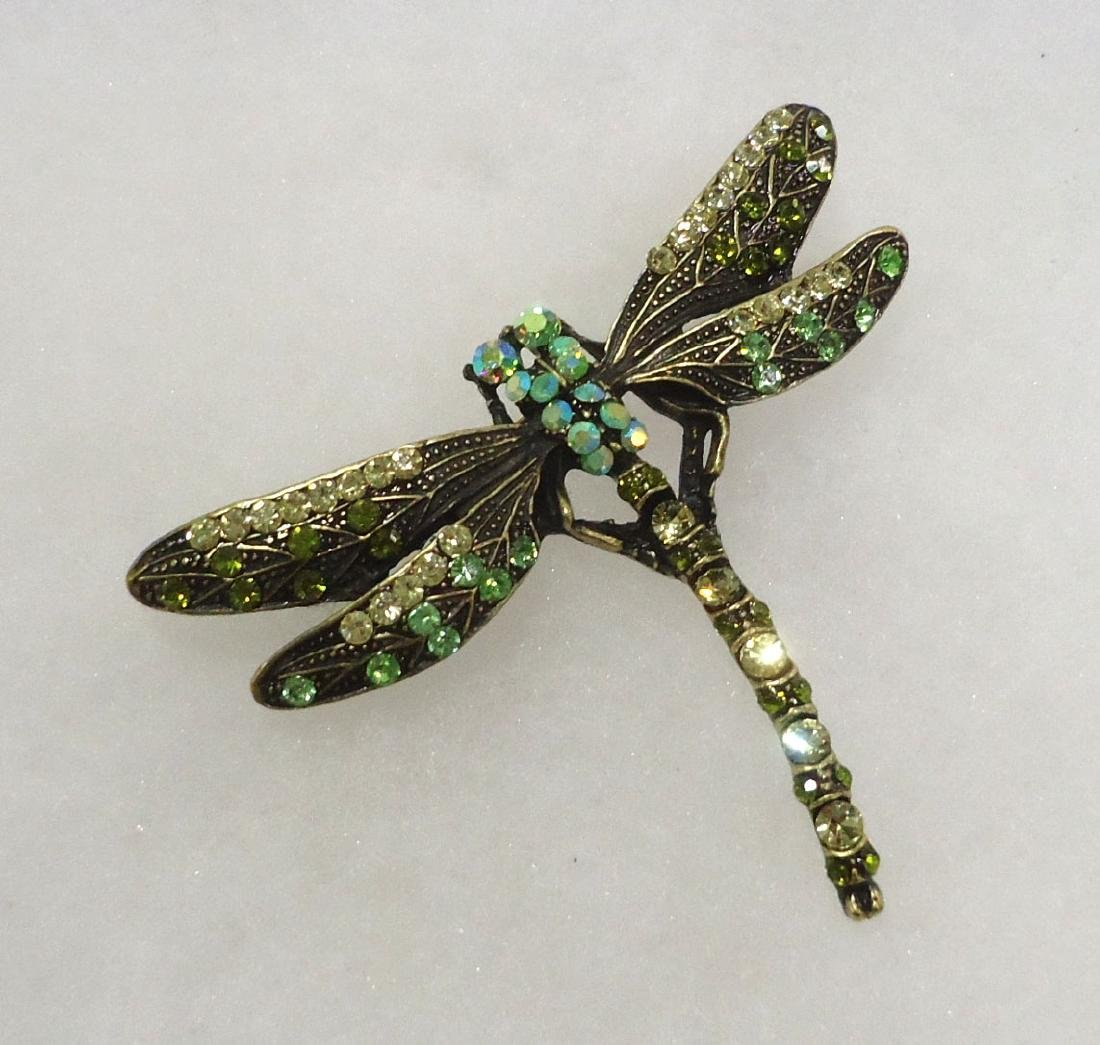 Costume Dragonfly Brooch