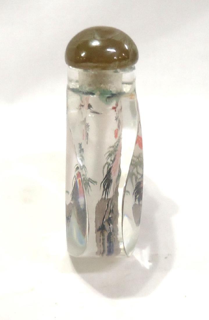 Lg. Oriental Snuff Bottle - 2