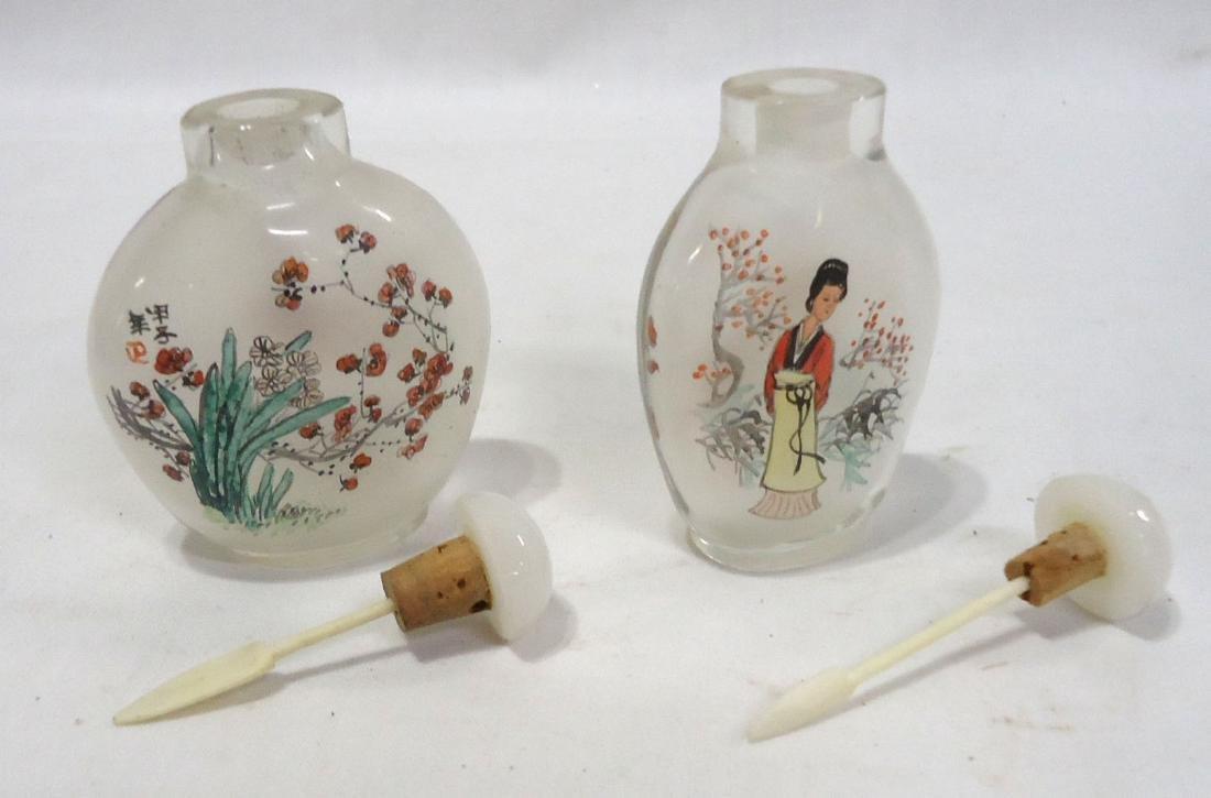 2 Oriental Snuff Bottles - 2