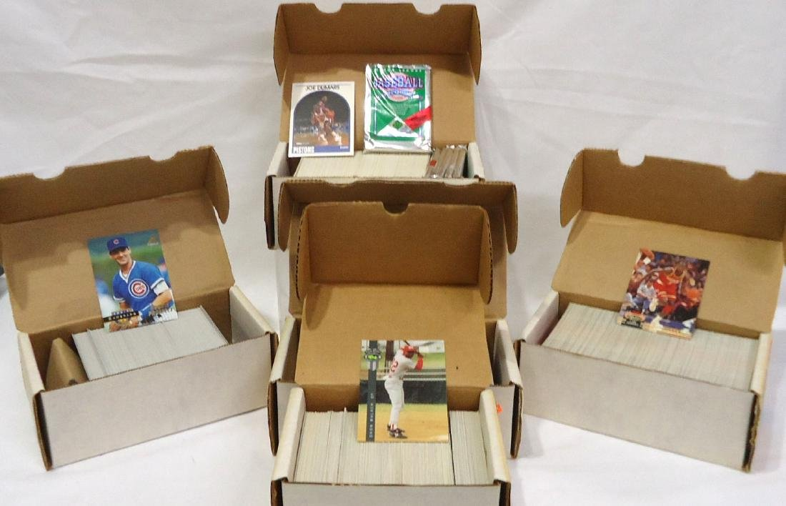 5 Boxes Mint 1990 - 94 Sports Cards