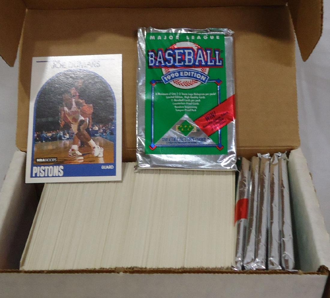 5 Boxes Mint 1990 - 94 Sports Cards - 2