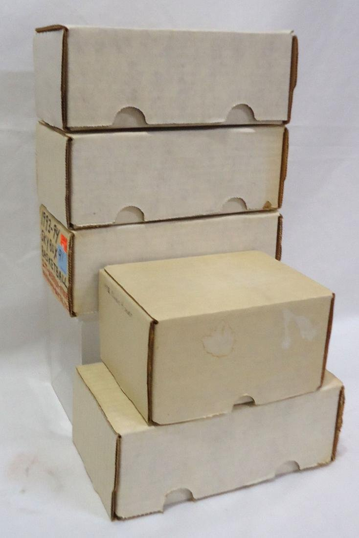 5 Boxes Mint 1990 - 94 Sports Cards - 6