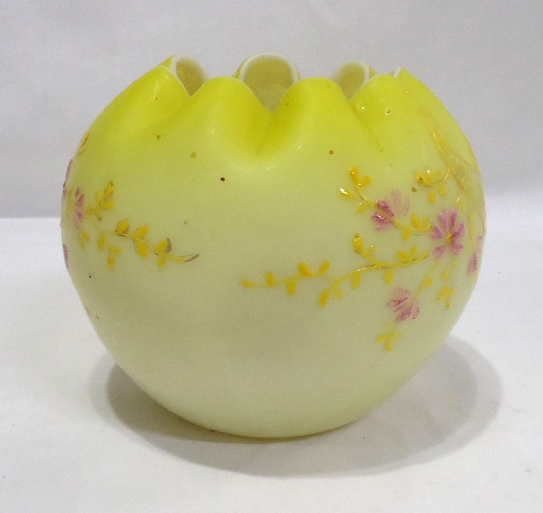 Art Glass Rose Bowl - 2