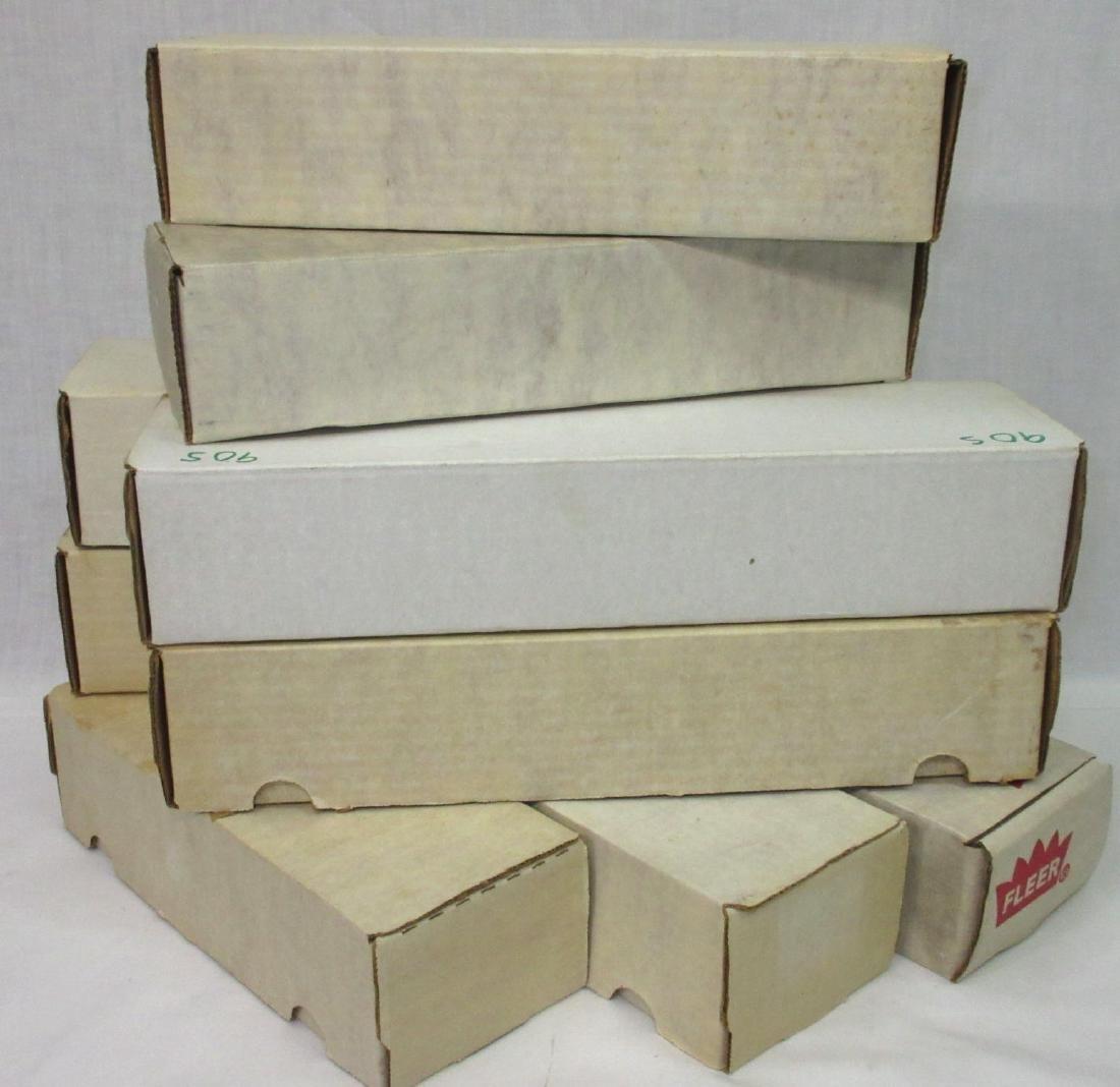 9 Boxes 1988-92 Baseball & Football Cards