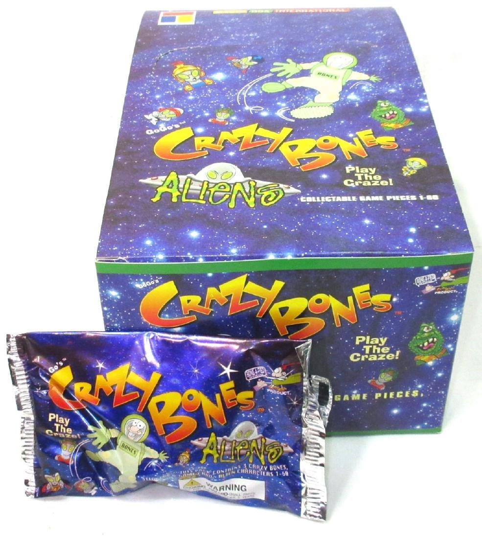 Factory Box Crazy Bones Trading Cards