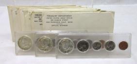10 Us Mint Sets 1965 - 1973