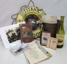 Lot Of Non Vintage Titanic Items