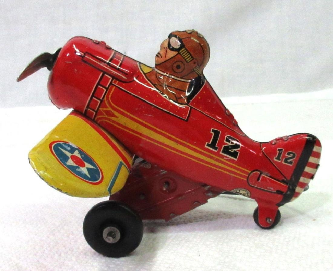 Marx Rollover Airplane