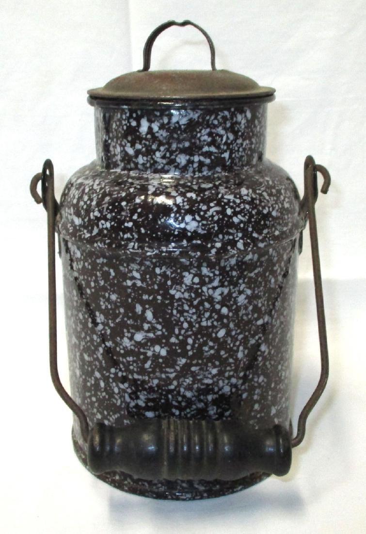 Graniteware Cream Can