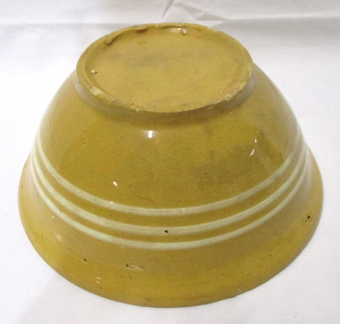Yellowware Bowl - 4