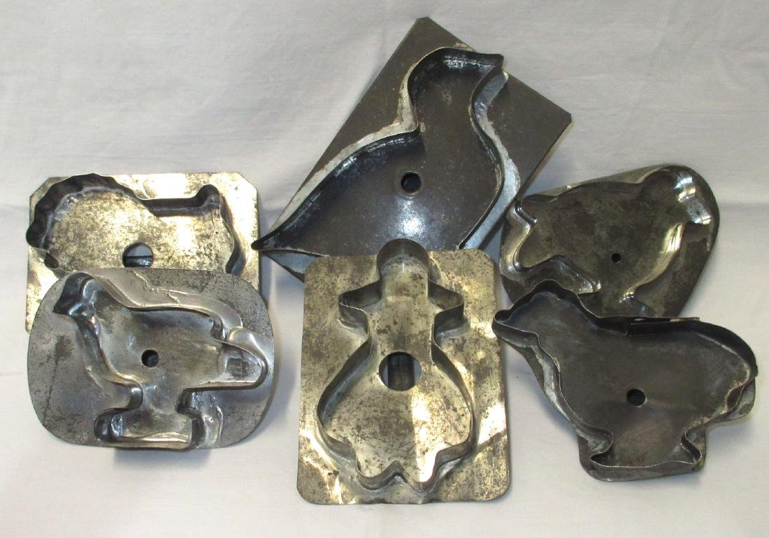 6 Soldered Cookie Cutters