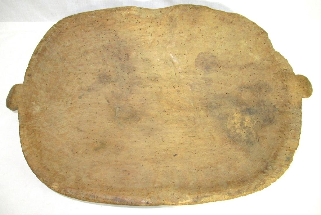 Early Wooden Dough Bowl