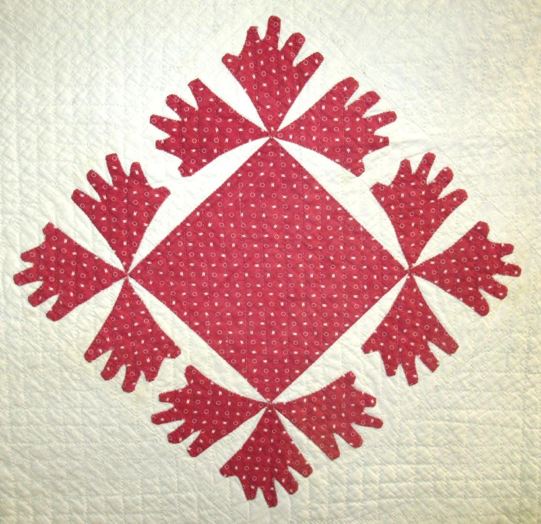 Early Appliqué Quilt - 2