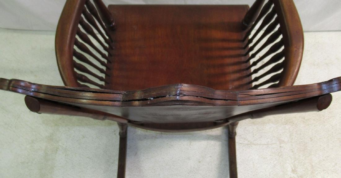 Rocking Chair w/ Carved Ladies Head - 6