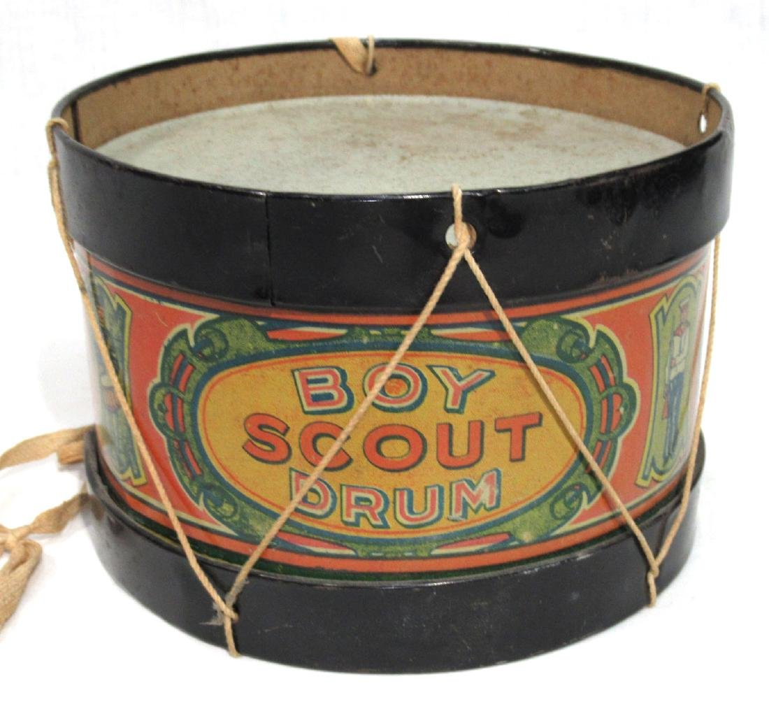 Antique Boy Scout Drum