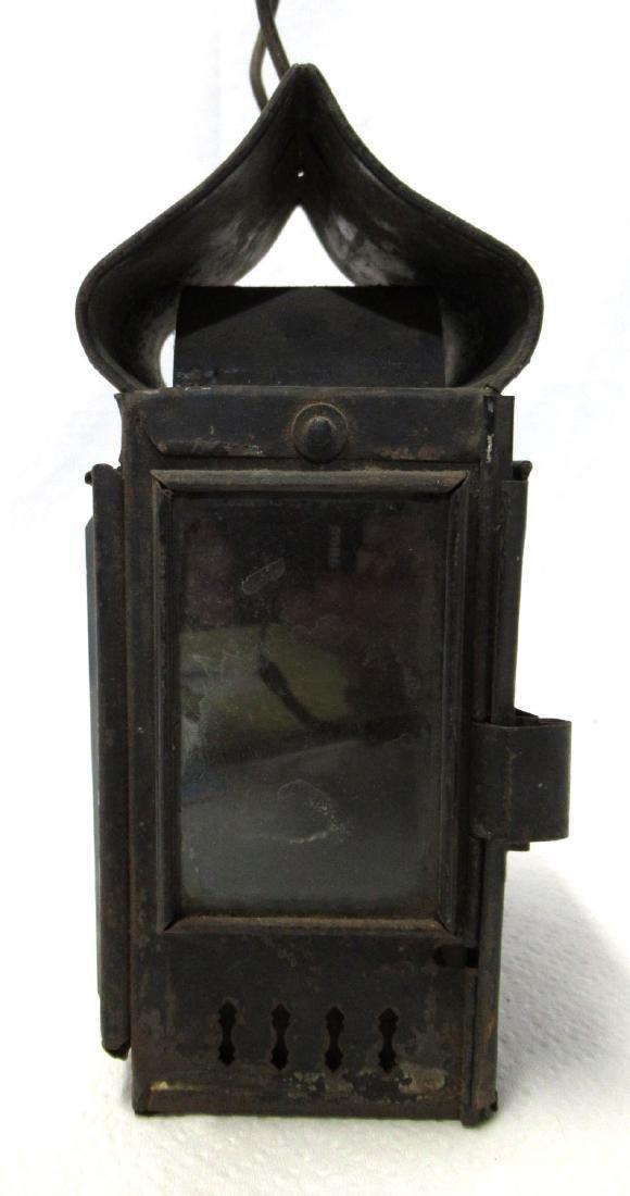 Tin Driving Candle Lantern - 2