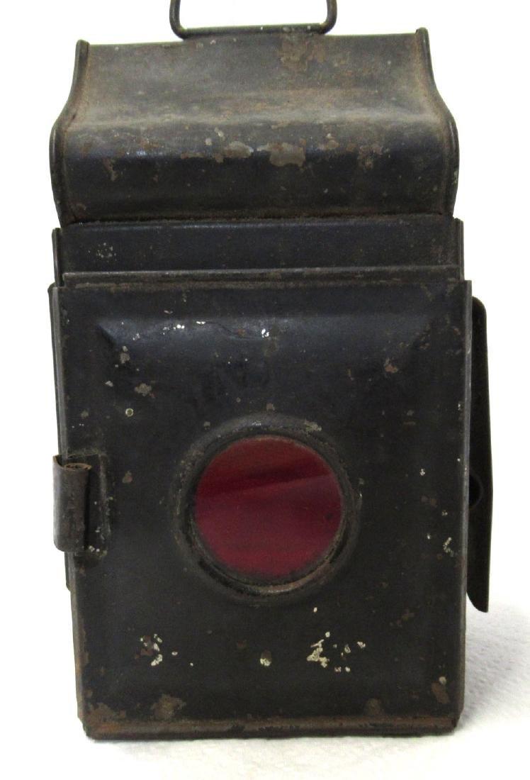 Tin Driving Candle Lantern - 3