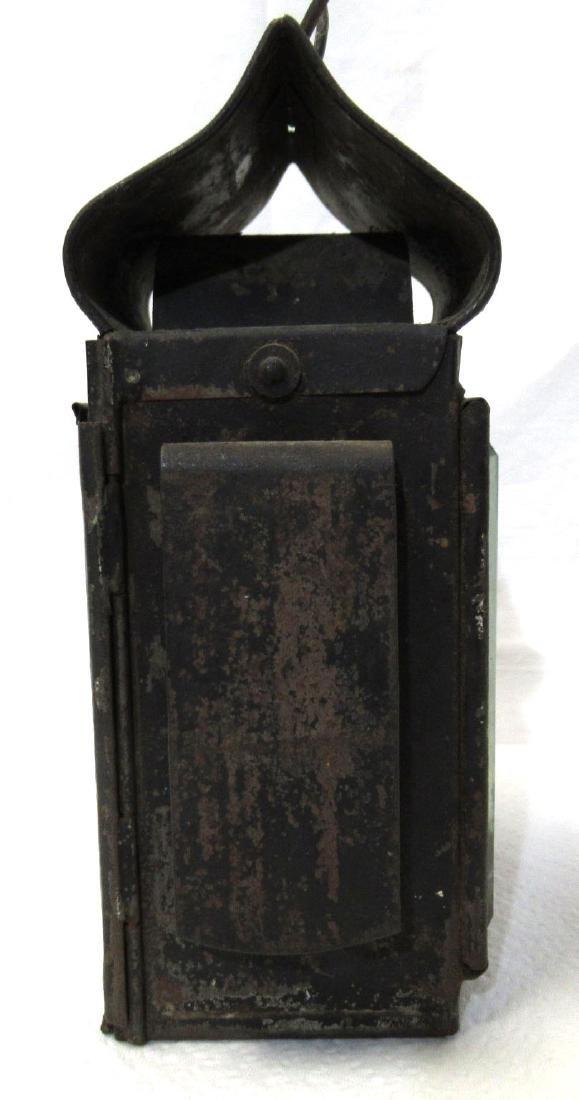 Tin Driving Candle Lantern - 4