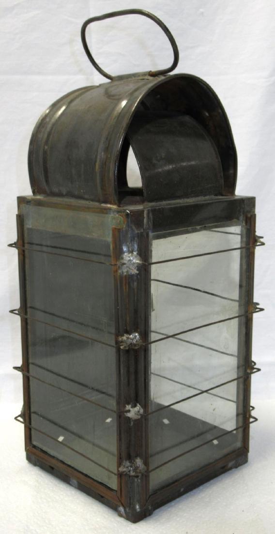 Tin Barn Candle Lantern