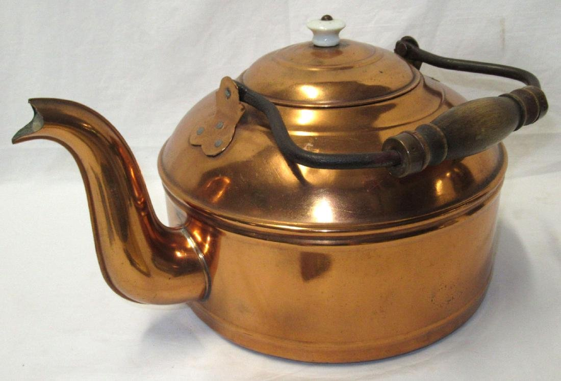 Copper Tea Kettle - 2