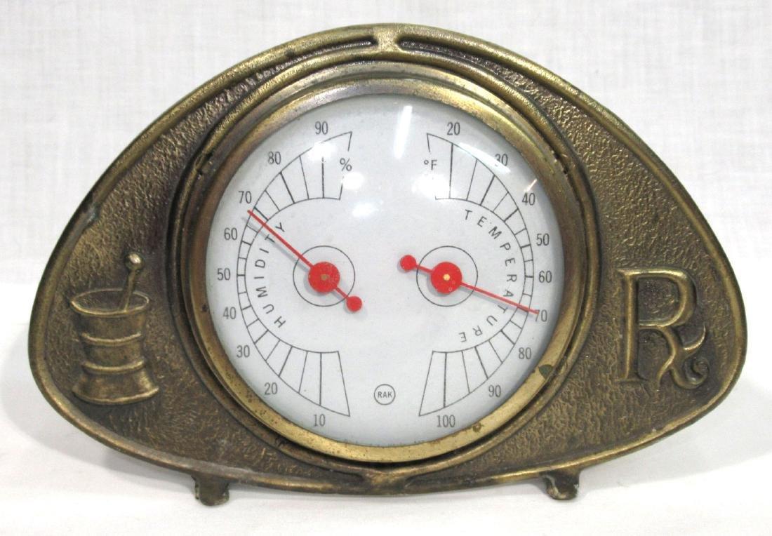 Pharmacy Thermometer/Barometer
